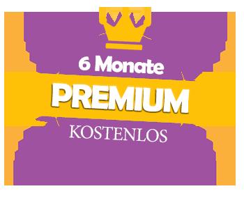 Erhalten Sie jetzt kostenlos 6 Monate Premium-Mitgliedschaft!